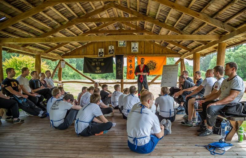 Летний лагерь вин чун в Вепряе (Литва), 2015г. Видео-отчет.