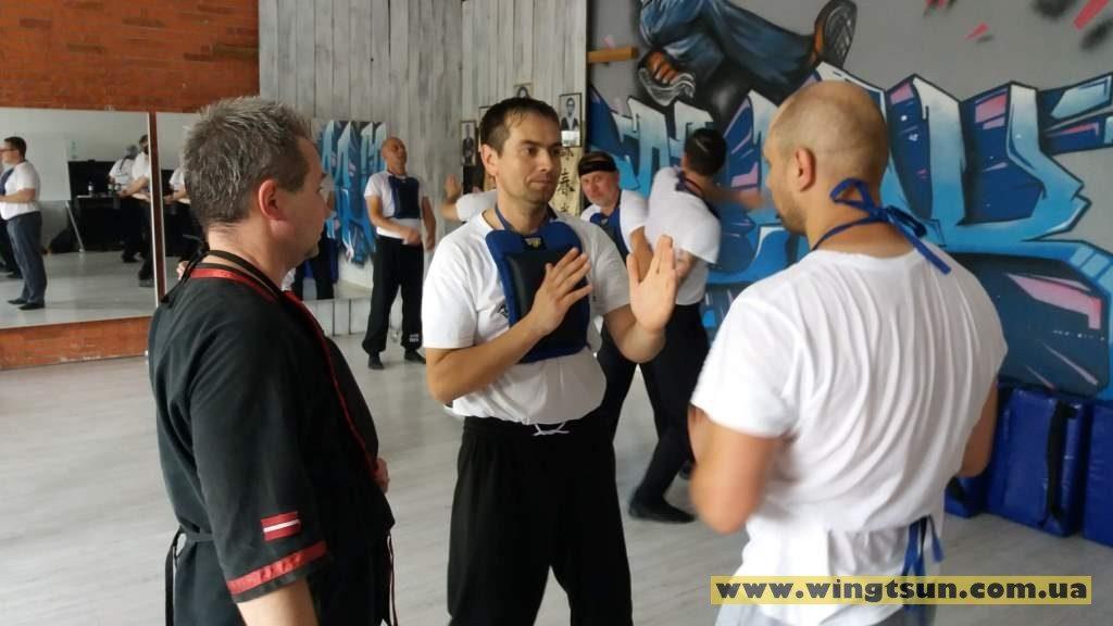семинар вин чун кунг-фу в Киеве